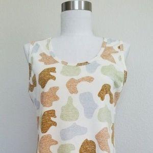 LuLaRoe 3XL Tank Top Camouflage Print